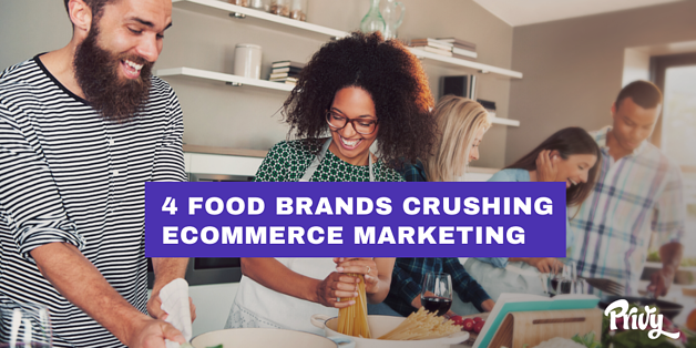 4 Food Brands Crushing Ecommerce Marketing & What You Can Learn From Them_Blog Header Image