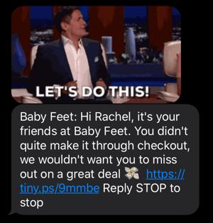 Baby Feet SMS 1-1