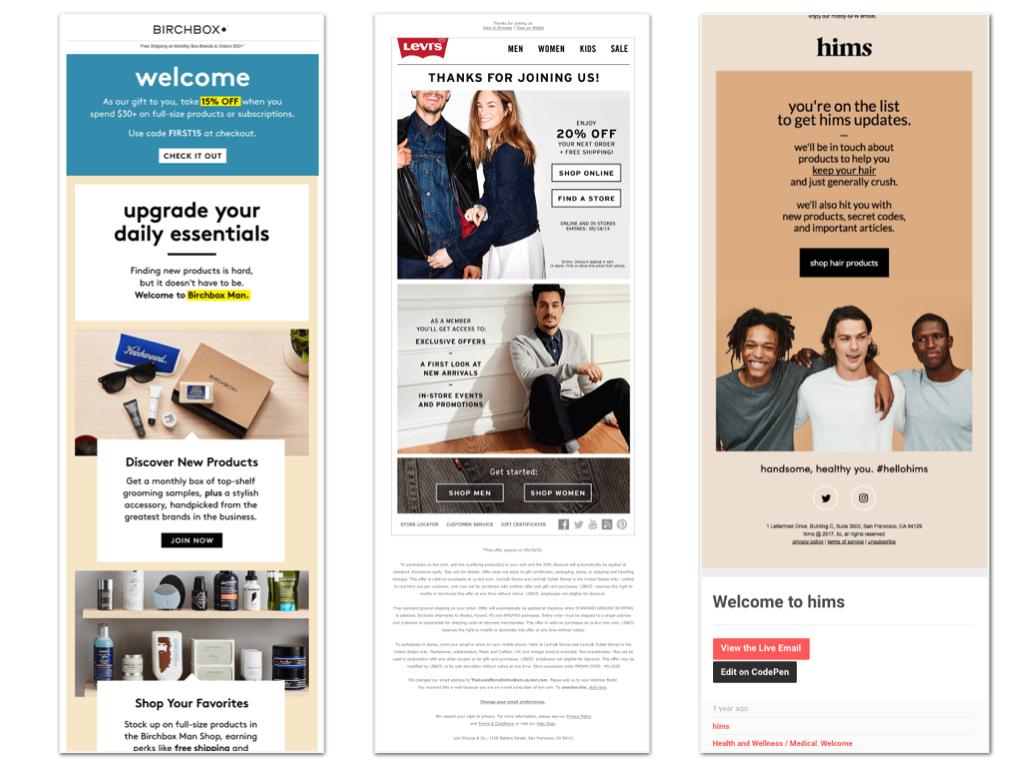 metric digital email examples