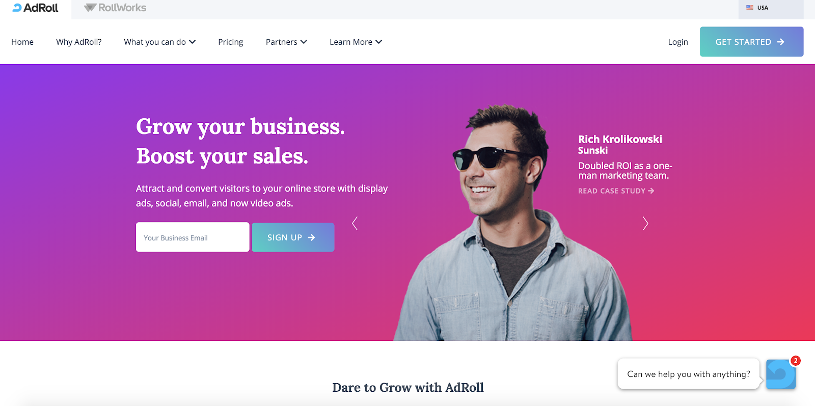 adroll growth platform