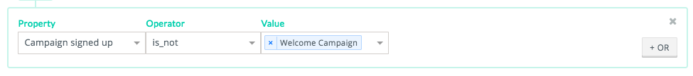 campaign signed up