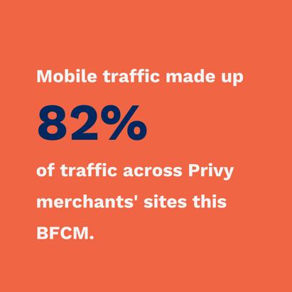 mobile traffic bfcm