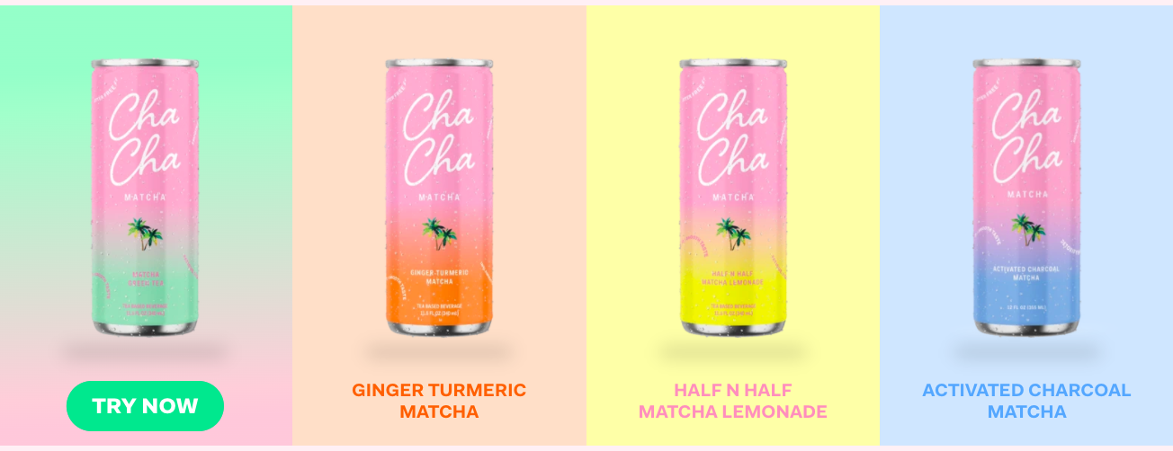 Cha Cha Matcha products