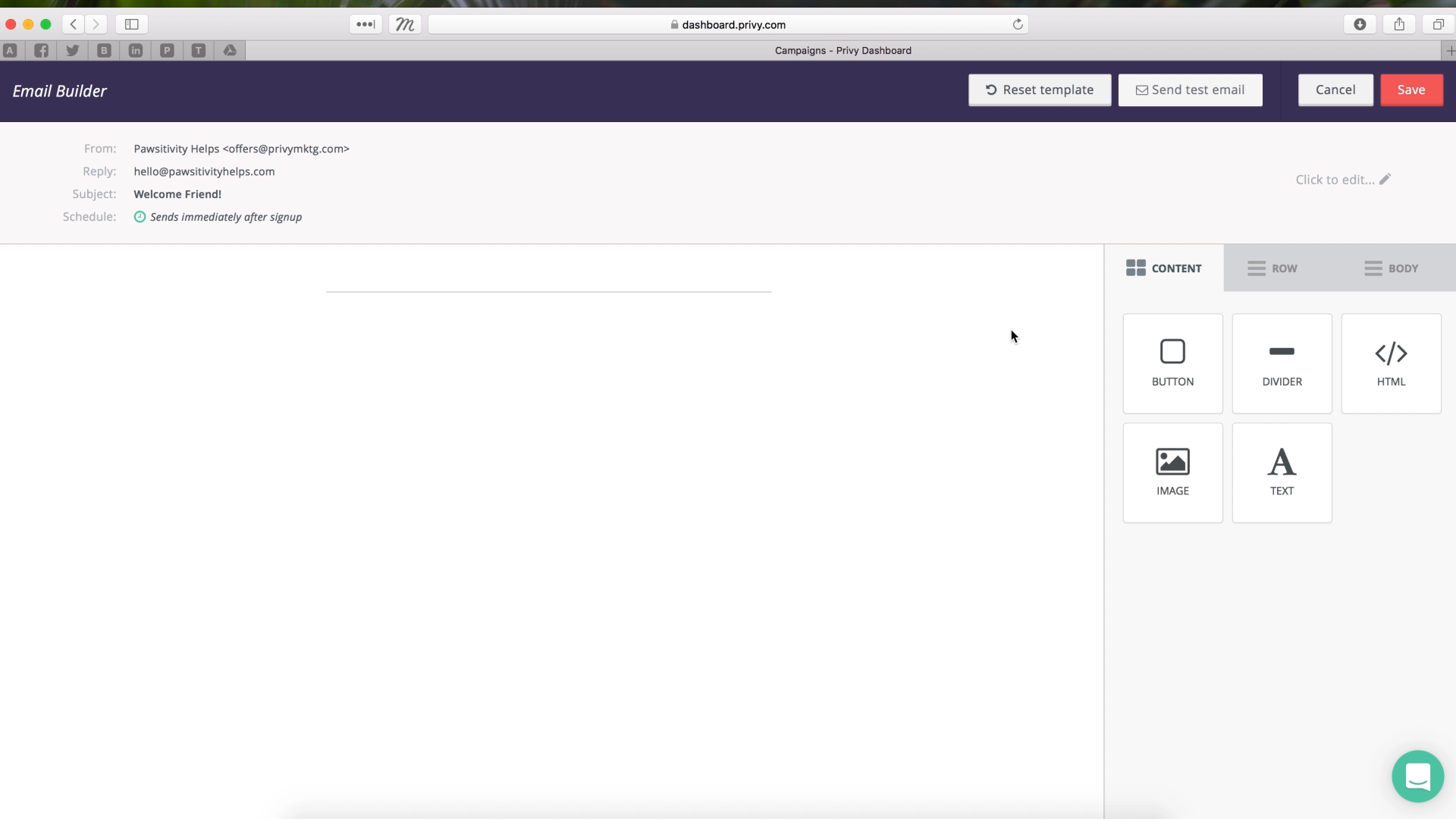 Drag and Drop Email Editor Demo_3