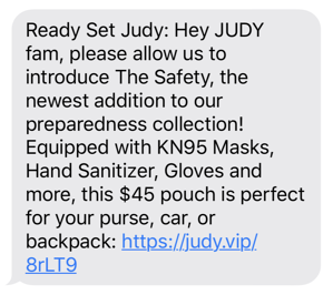JUDY SMS-1