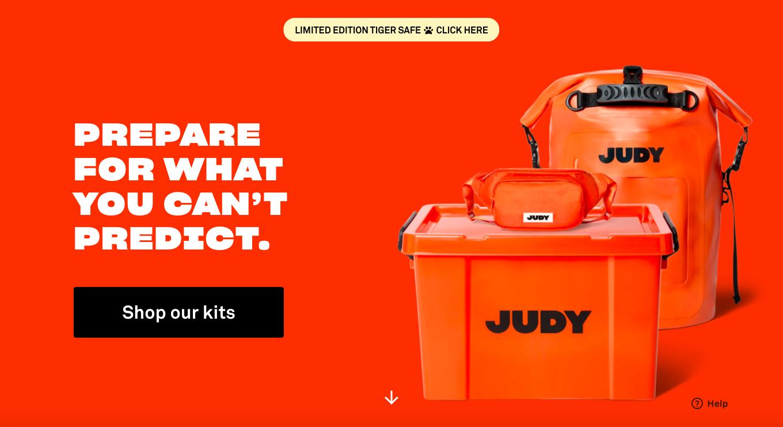 JUDY homepage