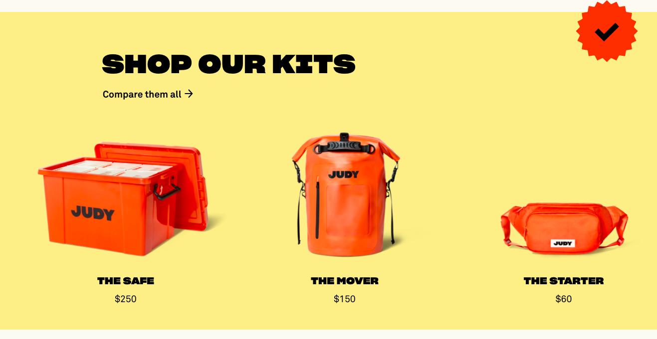 JUDY kits
