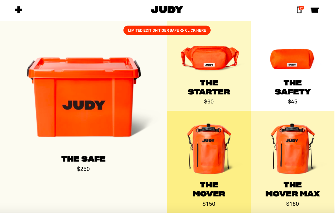 JUDY products
