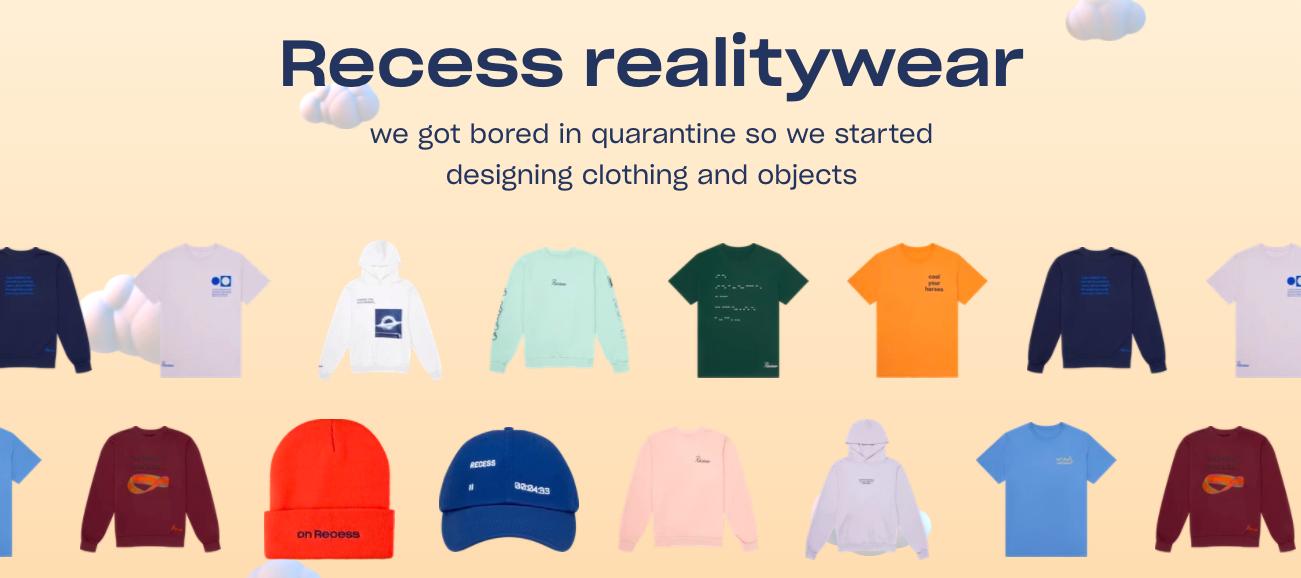 Recess realitywear