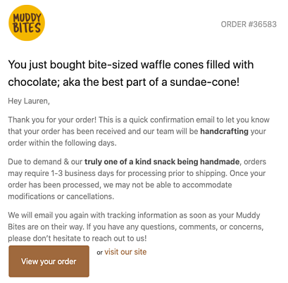 Muddy-Bites-confirmation-email