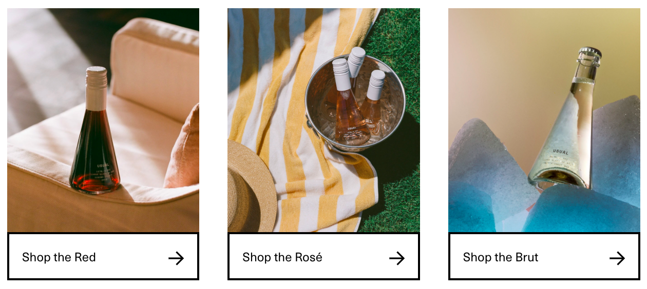 Usual product photos