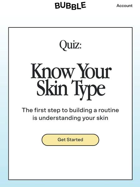 bubble - quiz
