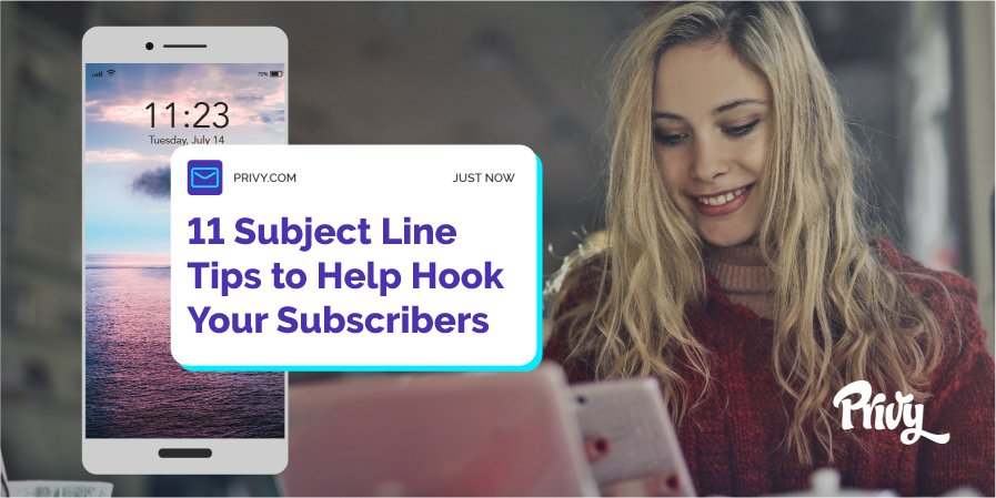 11 Email Subject Line Tips & Best Email Subject Line Examples